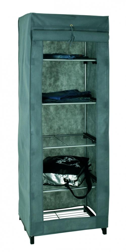Šatní textilní skříň Brielle, 173 cm