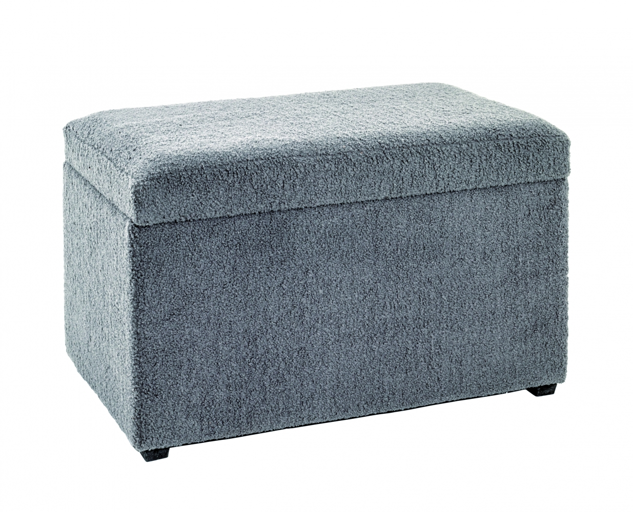 Sedák Glenny s úložným prostorem, 65 cm, šedá
