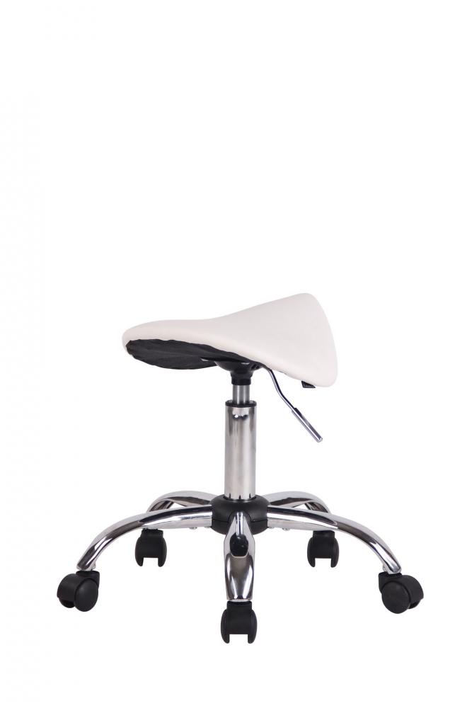 Sedlová židle Henry, bílá