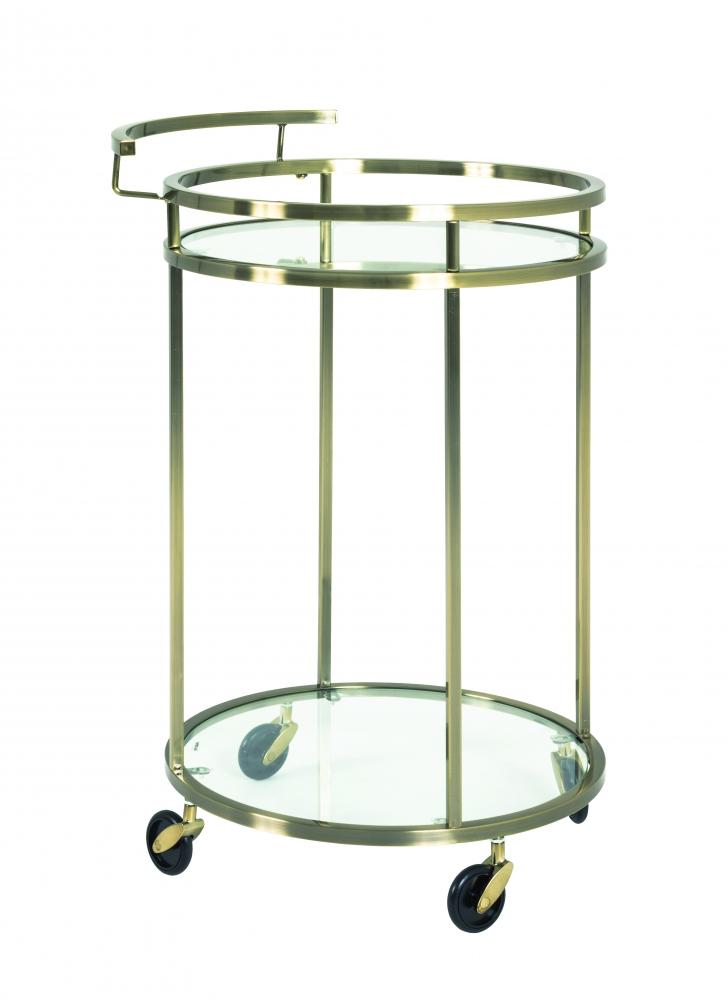 Servírovací stolek Corey, 75 cm, bronz
