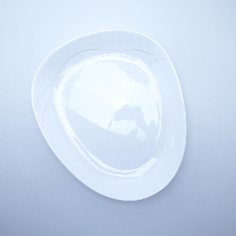 Sevírovací mísa na těstoviny/salát, 35 cm, list
