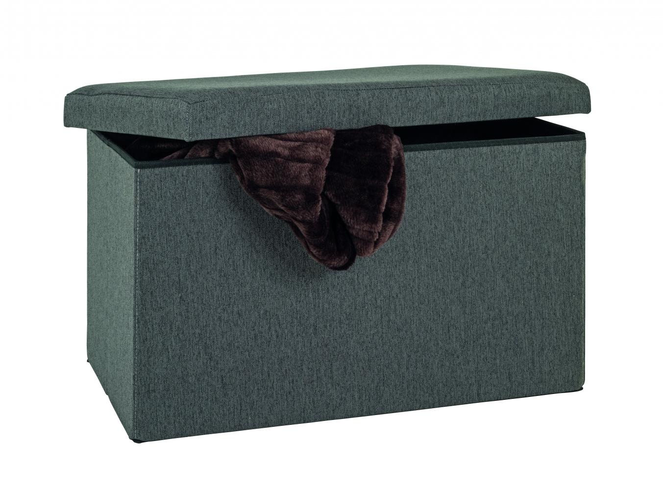 Skládací box Aubre, 40 cm, antracitová