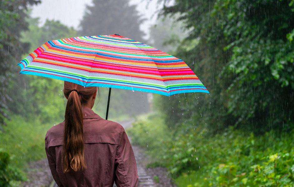 Skládací deštník Rondo, 100 cm