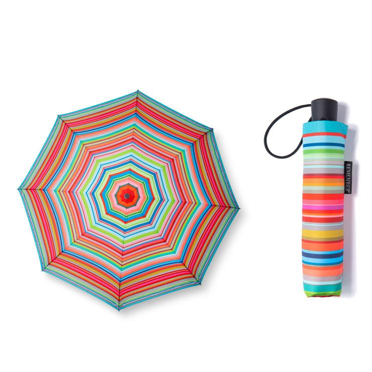 Skládací deštník Stripes, 100 cm
