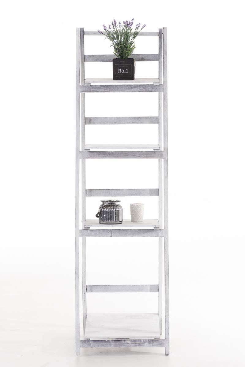 skladac poschodov reg l kristy 146 cm antik biela design outlet. Black Bedroom Furniture Sets. Home Design Ideas