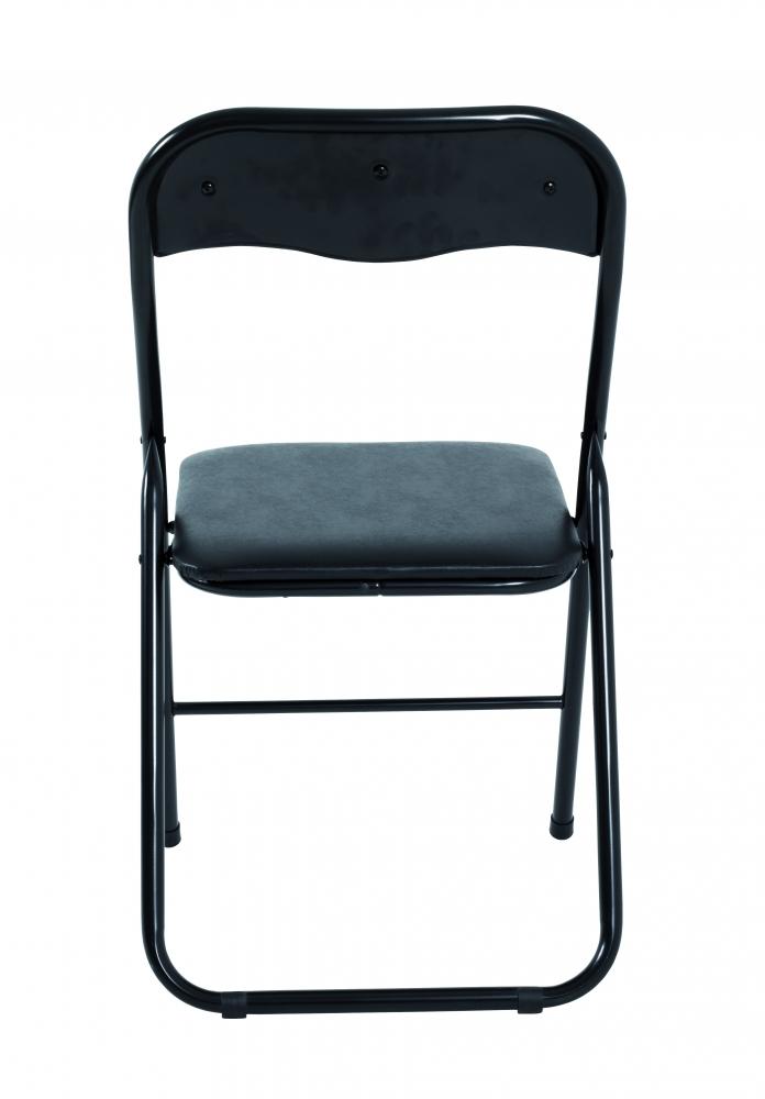 Skládací židle Eliza, 81 cm, černá