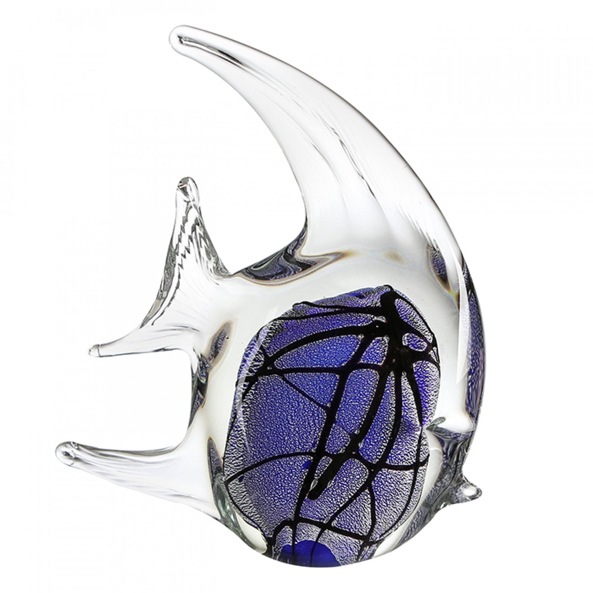 Skleněná dekorace Fish, 21 cm
