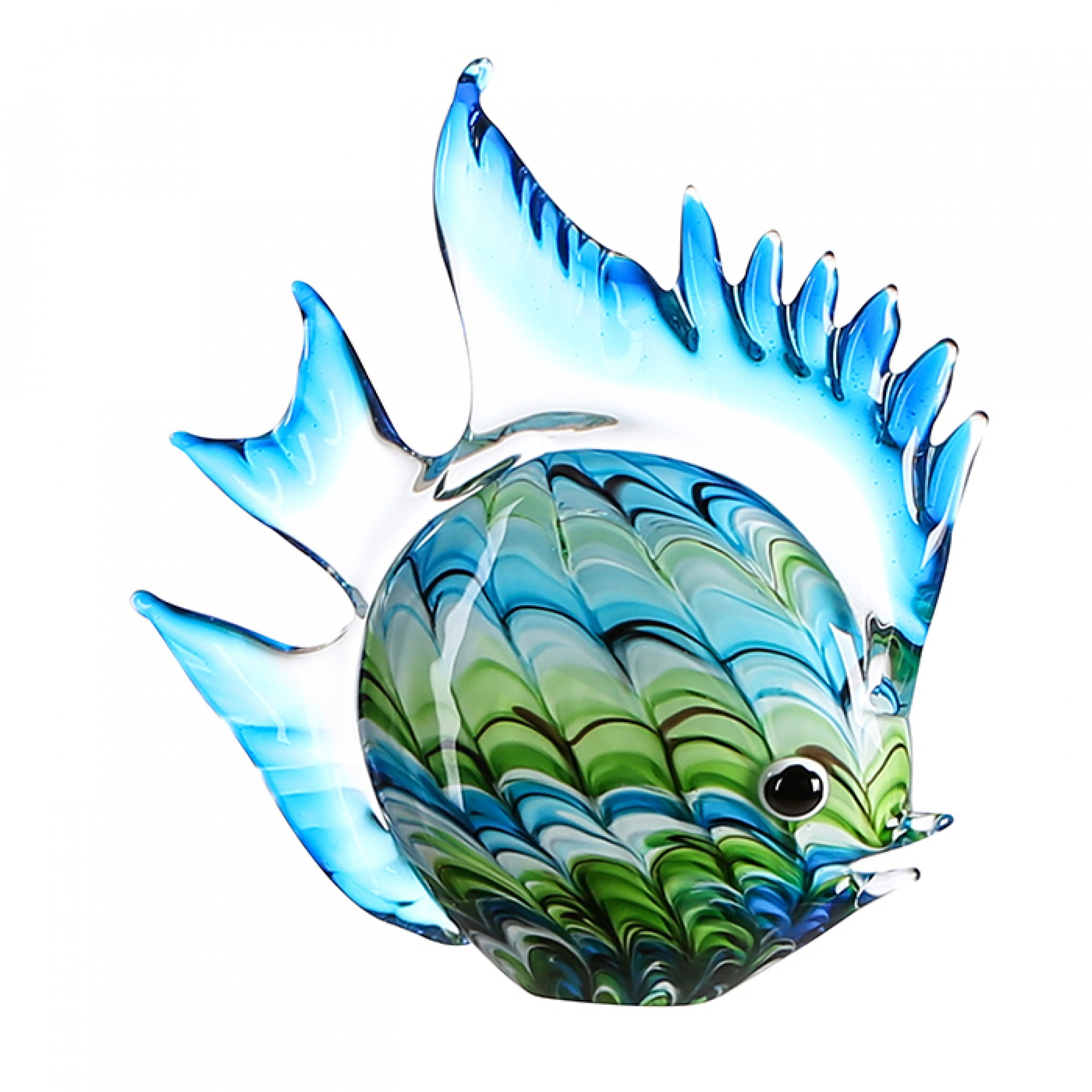 Skleněná dekorace Fun Fish, 30 cm
