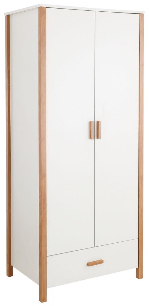 Skříň Carly, 180 cm, bílá