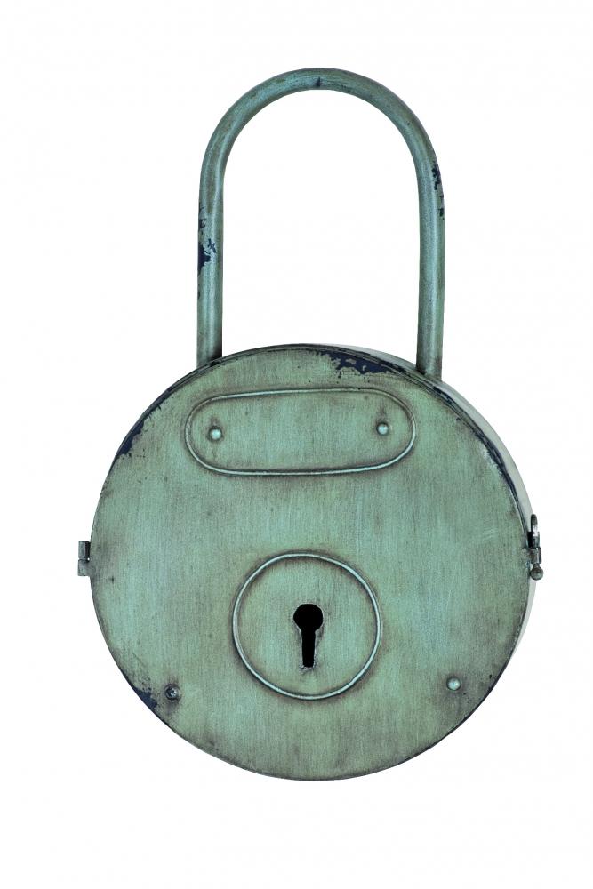 Skříňka na klíče Glor, 44 cm, šedá