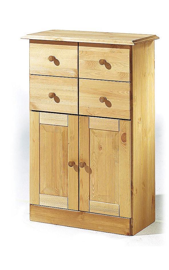 Skříňka Rocia, 90 cm, borovice
