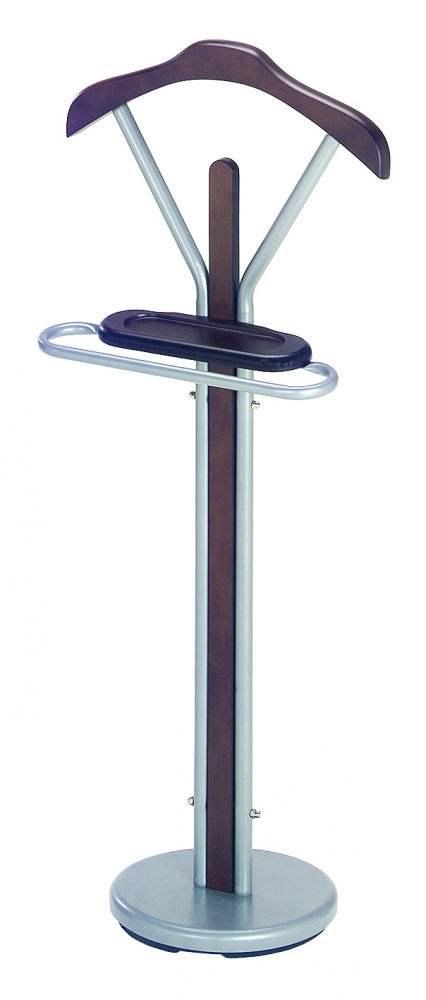 Sluha na oblečení Caleb, 108 cm, hnědá / stříbrná