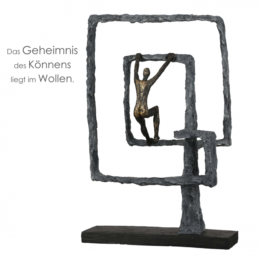 Socha Power, 40,5 cm, bronzová