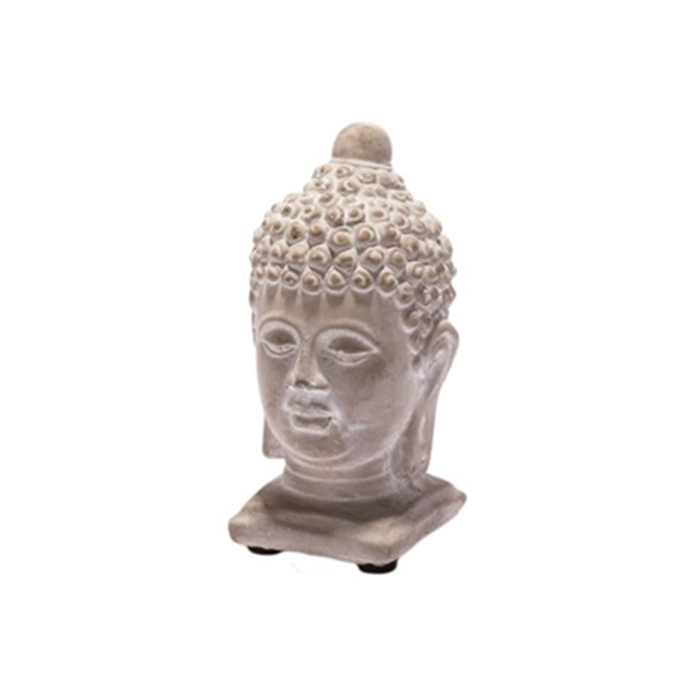 Soška Buddha hlava, 13 cm, beton