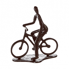 Soška Cycling man, 13 cm