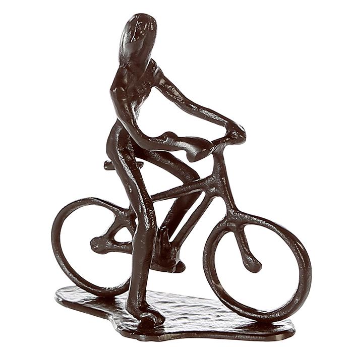 Soška Cycling woman, 13 cm