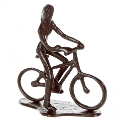 Soška Cycling woman, 13 cm
