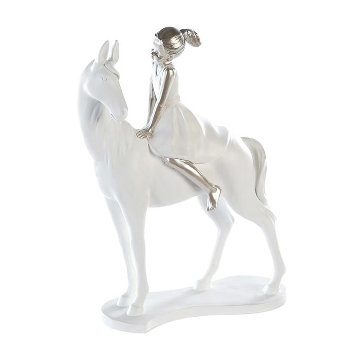 Soška Girl on Horse, 25 cm