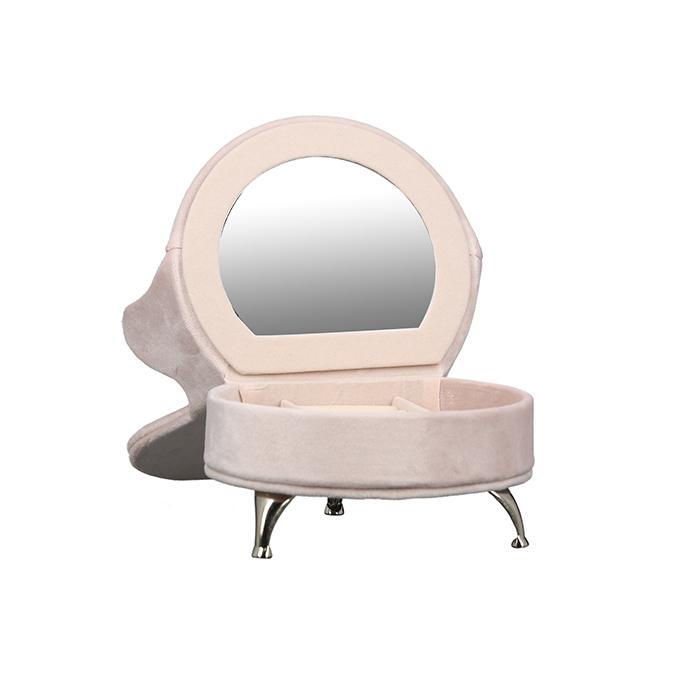 Šperkovnice Pink, 18 cm, růžová