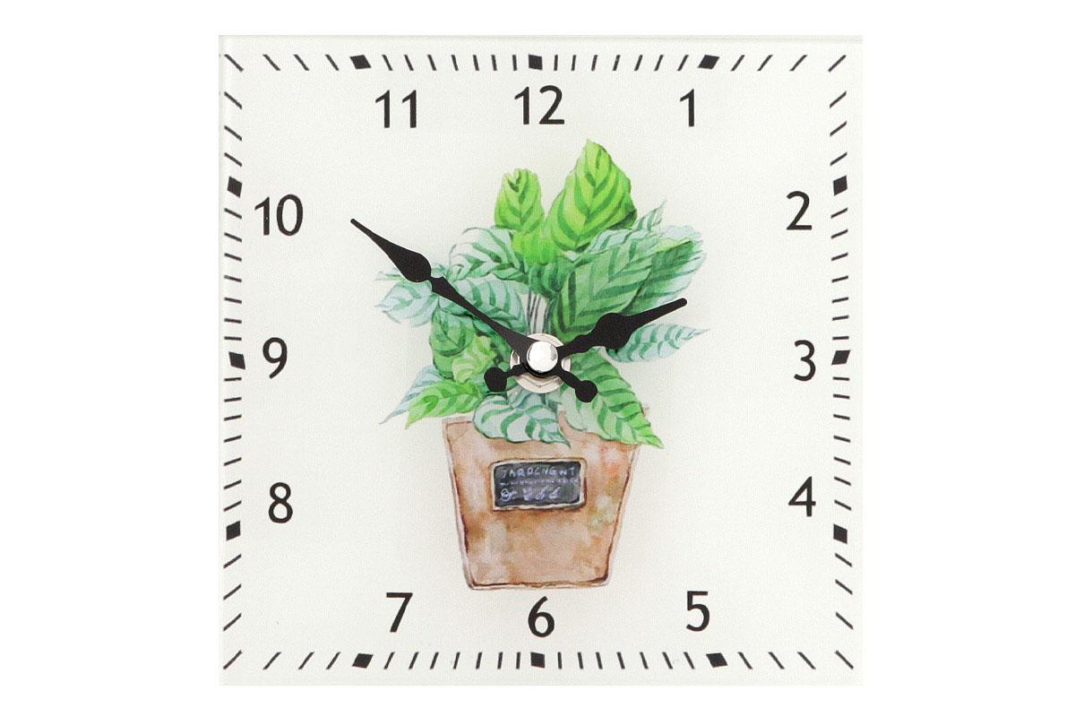 Stojací hodiny Flower, 15 cm