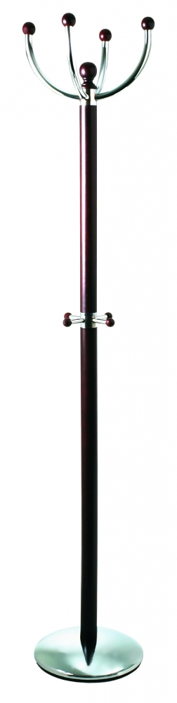 Stojací věšák Arac, 175 cm, hnědá