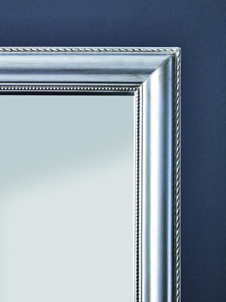 Stojací zrcadlo Alva, 156 cm, stříbrná