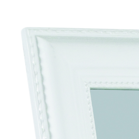 Stojací zrcadlo Alva, 160 cm, bílá