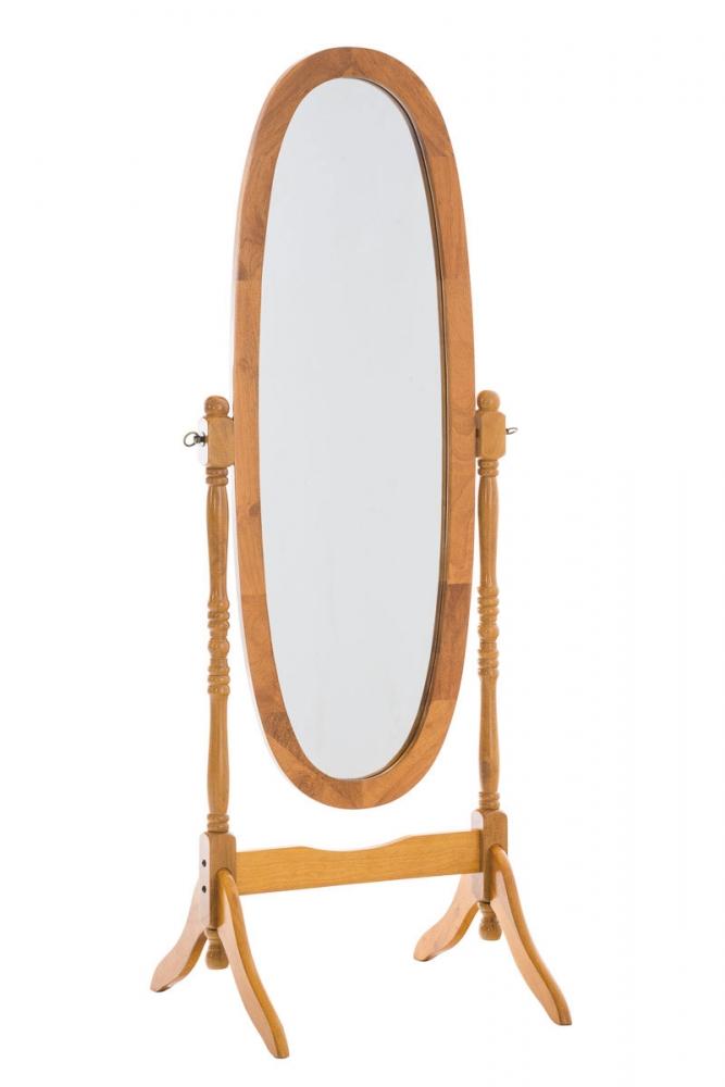 Stojací zrcadlo Cora, 150 cm, dub