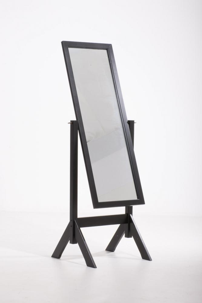 Stojací zrcadlo Elvis, 153 cm, černá