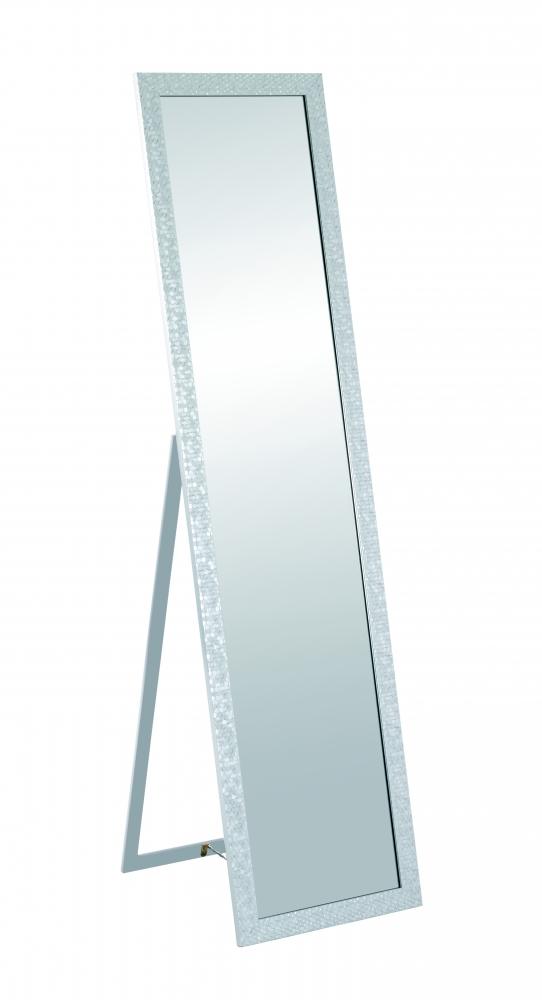 Stojací zrcadlo Michell, 156, stříbrná