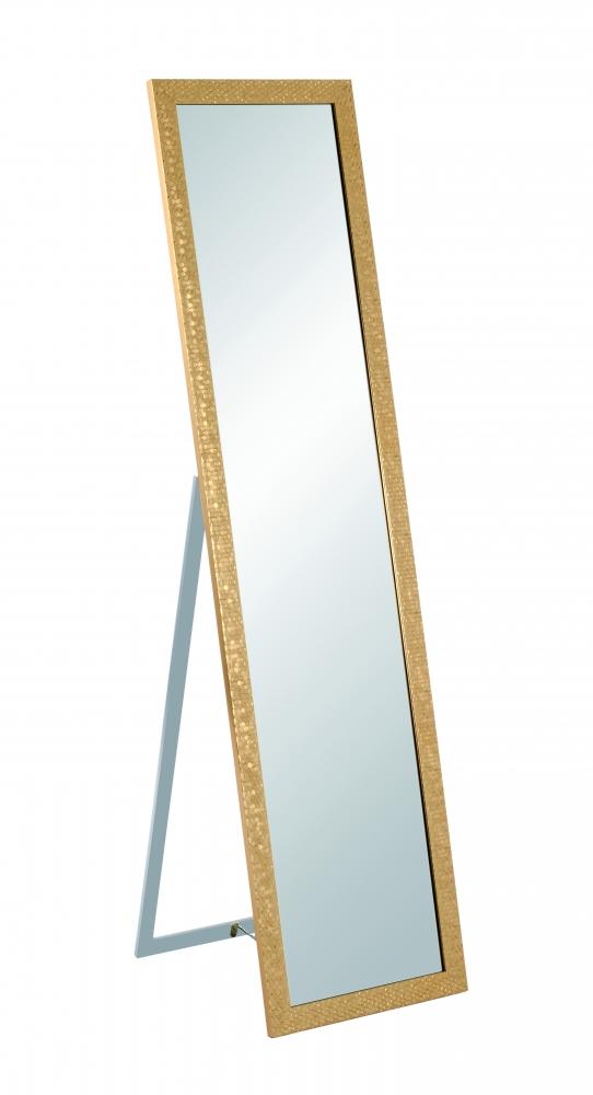 Stojací zrcadlo Michell, 156, zlatá