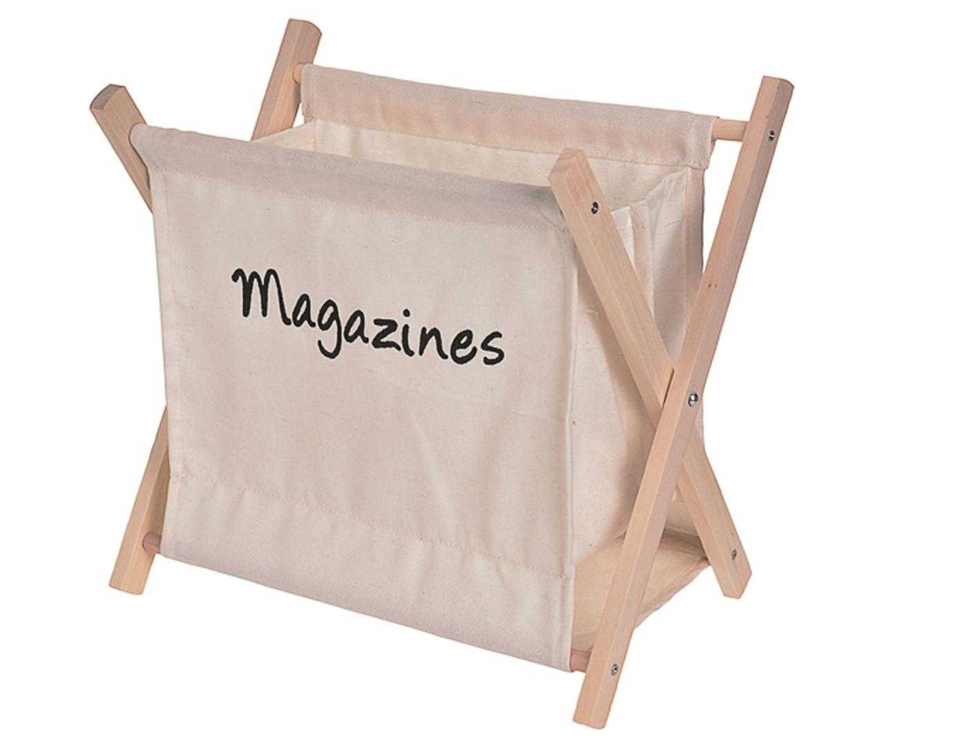 Stojan na časopisy Rydde, béžová