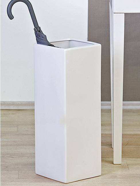 Stojan na d dniky keramick straight 60 cm biela for Ikea portaombrelli