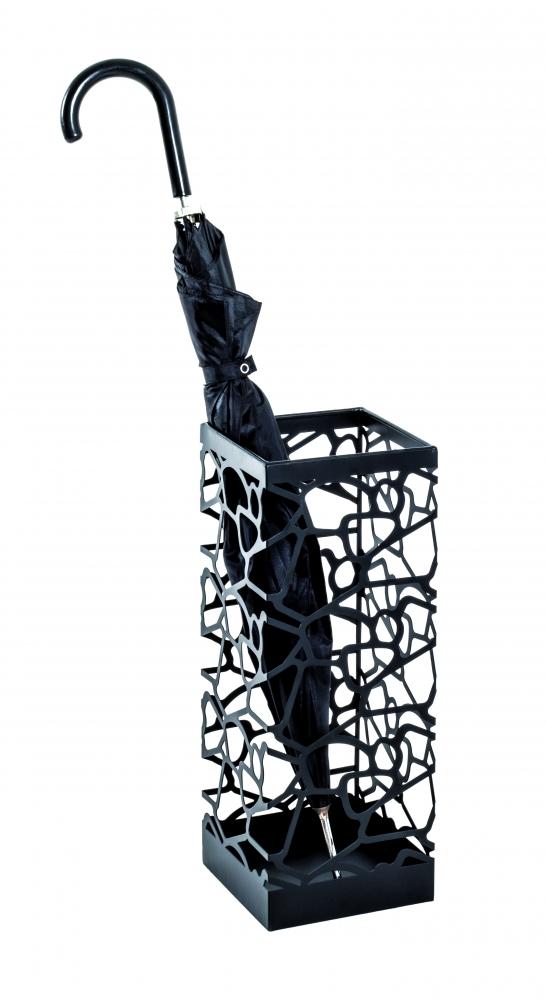 Stojan na deštník Oleander, 45 cm, černá