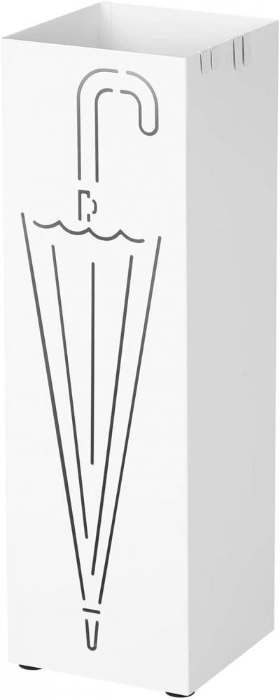 Stojan na deštníky Alfréd, 49 cm, bílá