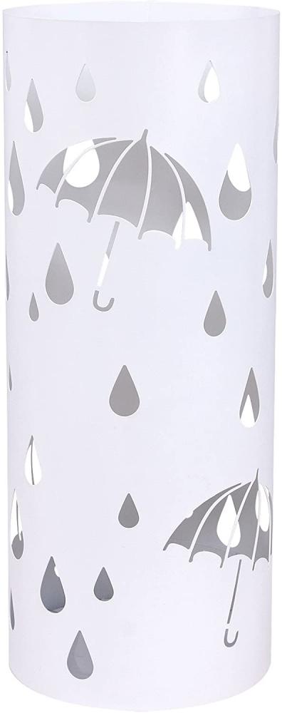 Stojan na deštníky Defect, 49 cm, bílá