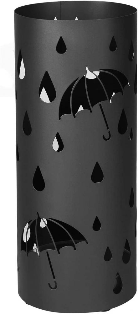 Stojan na deštníky Defect, 49 cm, černá