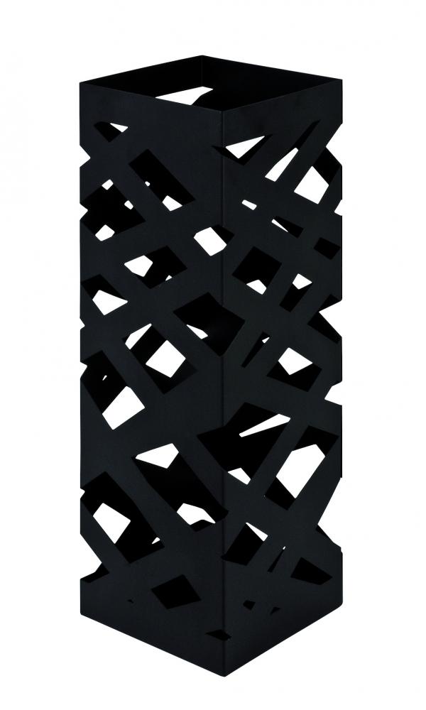 Stojan na deštníky Dieg, 48 cm, černá