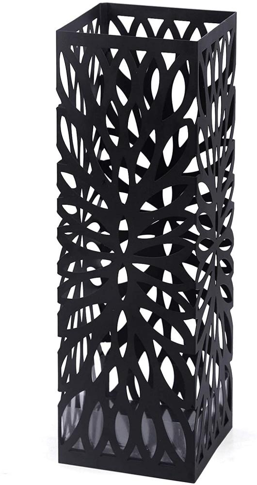 Stojan na deštníky Diego, 49 cm, černá