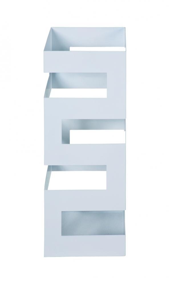 Stojan na deštníky Elie, 48 cm, bílá