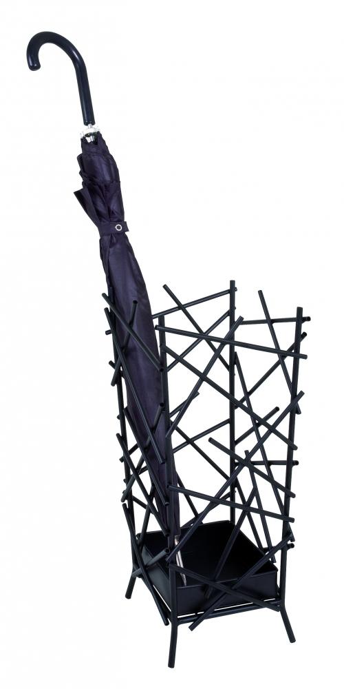 Stojan na deštníky Haze, 47 cm, černá
