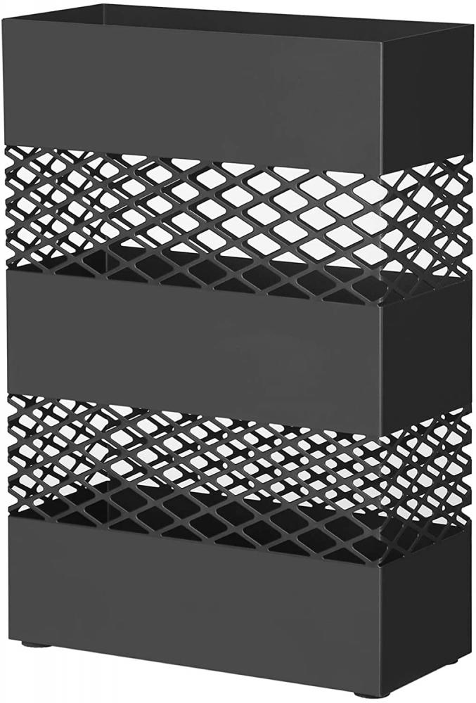 Stojan na deštníky Hélios, 15 cm, černá