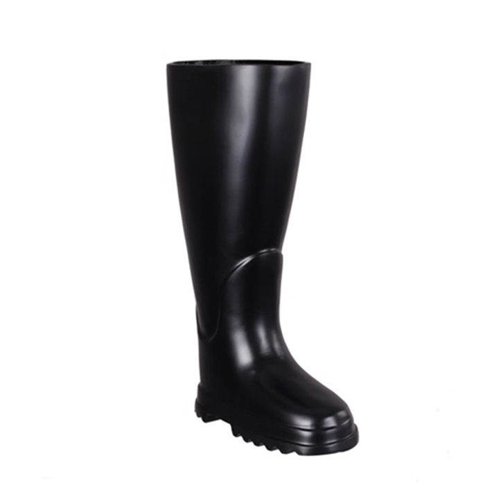 Stojan na deštníky hliníkový Boot, 44 cm, černá
