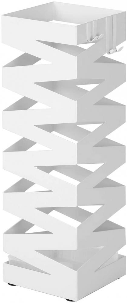Stojan na deštníky Kairos, 49 cm, bílá