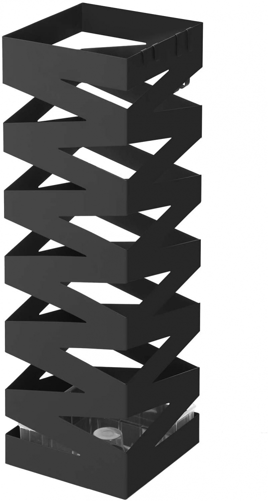 Stojan na deštníky Kairos, 49 cm, černá