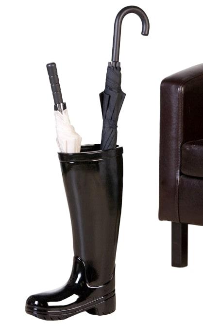 Stojan na deštníky keramický Holínka černá