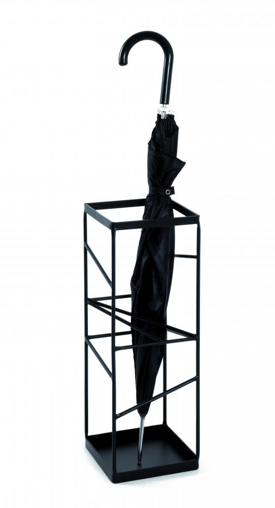Stojan na deštníky Lea, 49 cm, černá