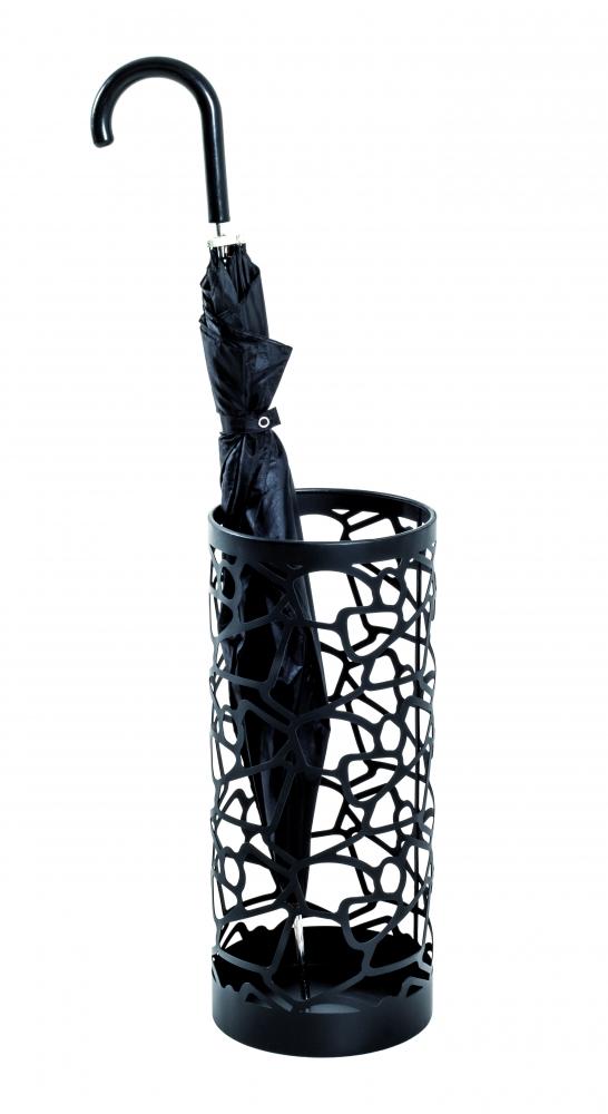 Stojan na deštníky Noemi, 45 cm, černá