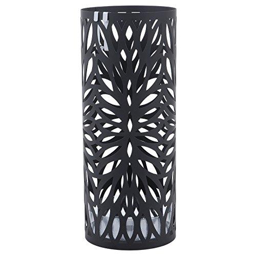 Stojan na deštníky Nymfy, 49 cm, černá