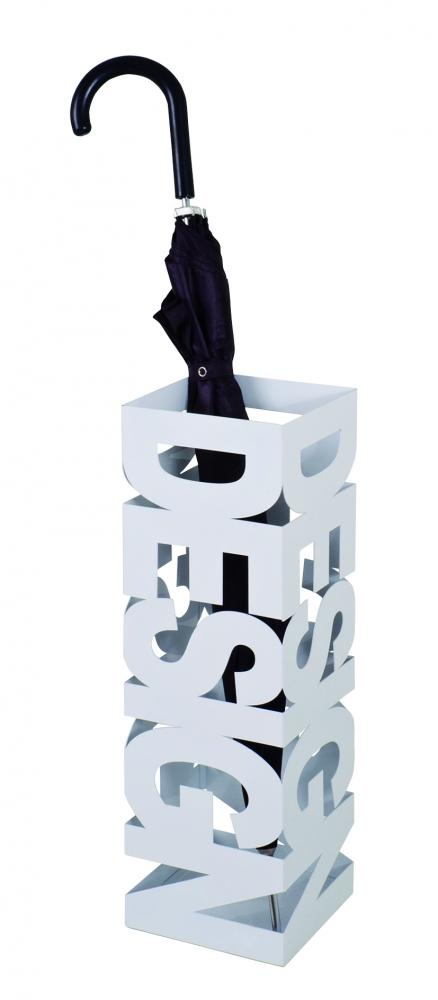 Stojan na deštníky Ruan, 48 cm, bílá